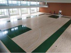北京武警某部隊籃球館